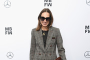Annette Weber attends the Sportalm Kitzbuehel show during the Berlin Fashion Week Spring/Summer 2019 at ewerk on July 4, 2018 in Berlin, Germany.