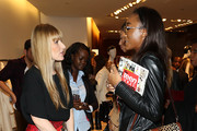 Teen Vogue Editor-In-Chief Amy Astley (L) and guest attend Sportmax And Teen Vogue Celebrate The Fall/Winter 2014 Collection on October 28, 2014 in New York City.