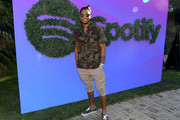 Trey Songz attends the Spotify Cookout on June 22, 2019 in Los Angeles, California.