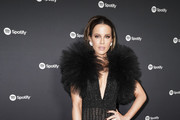 """Kate Beckinsale attends Spotify Hosts """"Best New Artist"""" Party at The Lot Studios on January 23, 2020 in Los Angeles, California."""