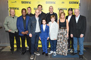 "The cast of ""All Square"" attends the premiere during the 2018 SXSW Conference and Festivals at the ZACH Theatre on March 10, 2018 in Austin, Texas."