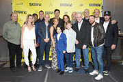 "SXSW director of film Janet Pierson (Center, back row) and the cast and crew of ""All Square"" attend the premiere during the 2018 SXSW Conference and Festivals at the ZACH Theatre on March 10, 2018 in Austin, Texas."