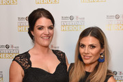 Alex McHugh  poses with her Hero Parent of the Year Award with Zoe Hardman (R) at the St John Ambulance's Everyday Heroes Awards, a star studded celebration of the nation's life savers, at Hilton Bankside on September 28, 2017 in London, England.