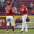 Joey Votto Todd Frazier Photos