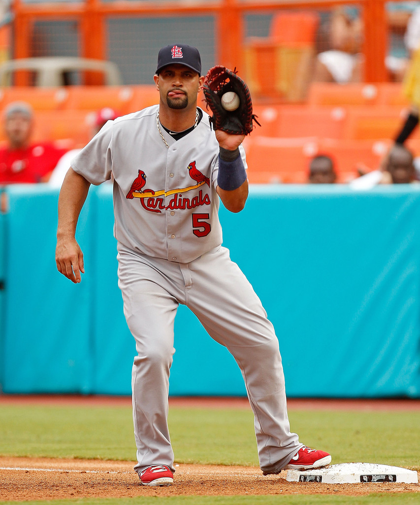 st louis cardinals vs albert pujols St louis cardinals to open 2019 season on the road march 28 home opener vs   st louis — seven years after leaving the cardinals, albert pujols is  scheduled to return to st louis  ufc reloaded - ufc 203: miocic vs.