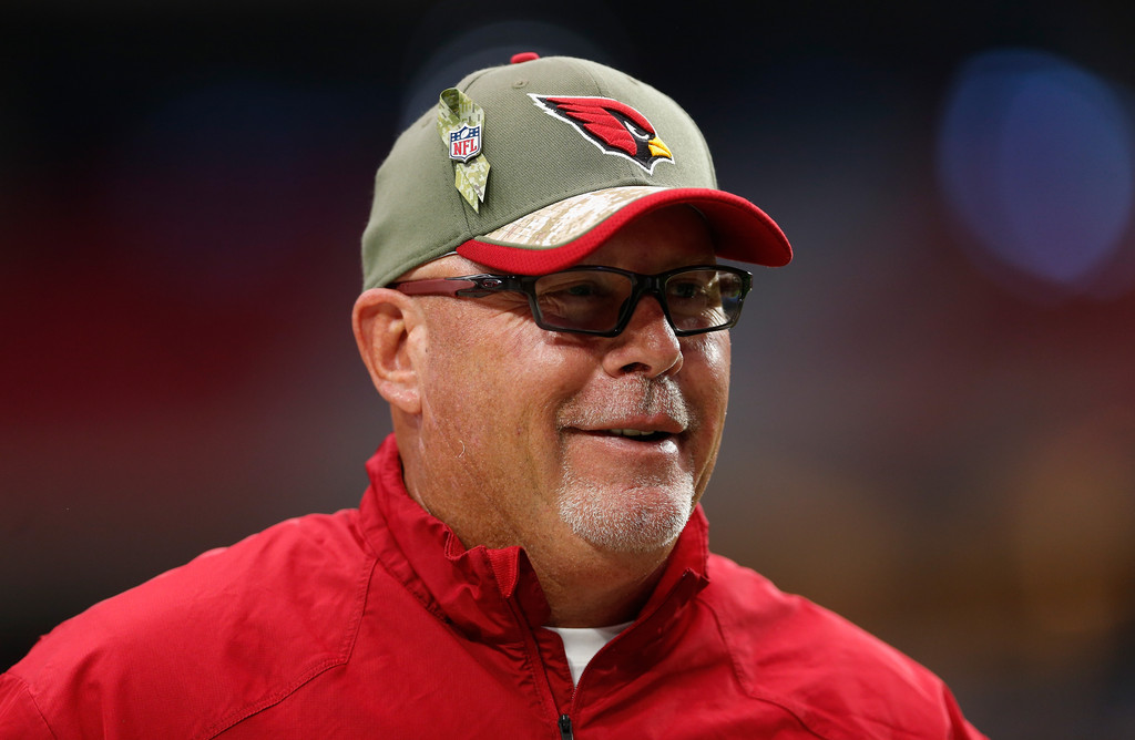 Bruce Arians Photos Photos - St Louis Rams v Arizona ...