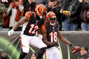A.j. Green and Mohamed Sanu Photos Photo