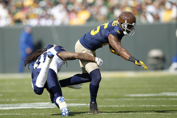 Al Harris St. Louis Rams v Green Bay Packers