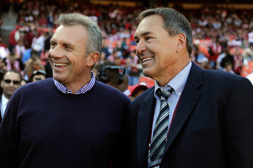 Dwight Clark St. Louis Rams v San Francisco 49ers