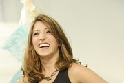 Christina Bianco attends the St. Pucci Spring 2014 collection show on October 14, 2013 in New York City.