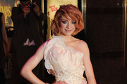 Nicola Roberts from Girls Aloud attends the World premiere of 'St Trinian's 2: The Legend of Fritton's Gold' at the Empire Leicester Square on December 9, 2009 in London, England.