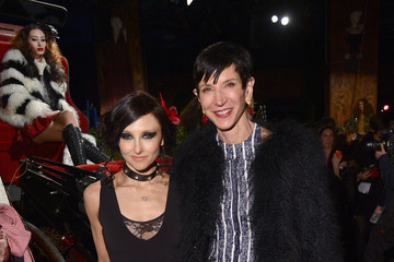 Stacey Bendet Amy Fine Collins alice + olivia by Stacey Bendet Fall 2014 NYFW Presentation - Arrivals and Backstage