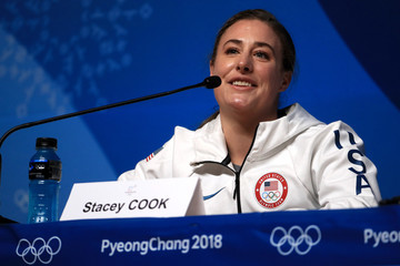 Stacey Cook Previews - Winter Olympics Day -1