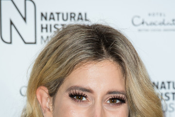 Stacey Solomon Natural History Museum Ice Rink Launch Party - Photocall
