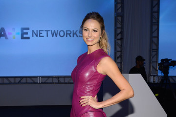 Stacy Keibler Inside the A+E Networks Upfront Event in NYC