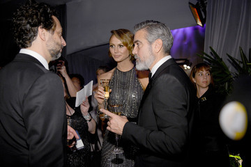 Stacy Keibler George Clooney 85th Annual Academy Awards - Governors Ball