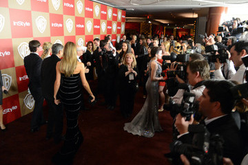 Stacy Keibler George Clooney 14th Annual Warner Bros. And InStyle Golden Globe Awards After Party - Arrivals