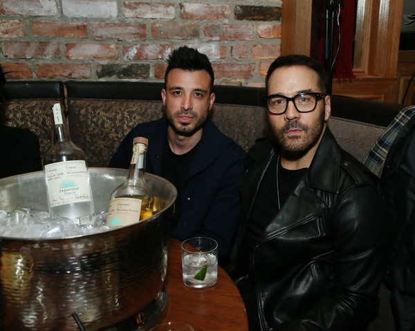 Twenty Celebrates It's Official Launch At TAO Los Angeles [drink,distilled beverage,glasses,alcohol,wine,beer,bar,liqueur,stafford schlitt,r,jeremy piven,los angeles,tao,california,twenty celebrates it,launch]