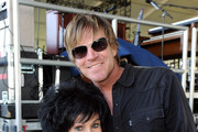 Singer Wanda Jackson (L) and musician Jack Ingram pose backstage during 2011 Stagecoach: California's Country Music Festival at the Empire Polo Club on May 1, 2011 in Indio, California.
