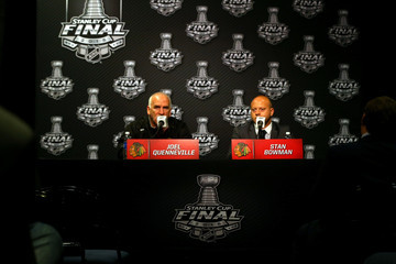 Stan Bowman 2015 NHL Stanley Cup Final - Media Day