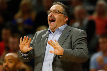 Stan Van Gundy Cleveland Cavaliers v Detroit Pistons - Game Four