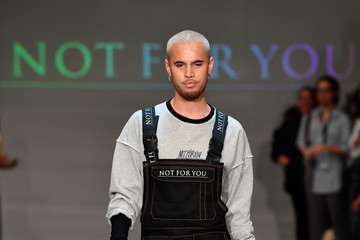 Stan Walker Not For You (N.F.U) Contemporary Salon - Runway - New Zealand Fashion Week 2018