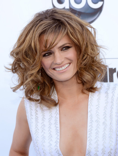 Stana Katic Actress Stana Katic arrives at the 2013 Billboard Music
