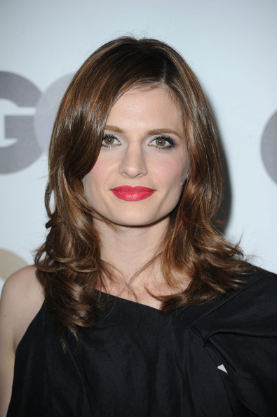 "Stana Katic Actress Stana Katic arrives at the 15th annual ""GQ Men of"