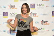 """Stand Up To Cancer Ambassador Bree Turner attends the launch of the Stand Up To Cancer """"Cancer Interception"""" Initiative, announcing four new research teams with the Lustgarten Foundation, LUNGevity Foundation, and the American Lung Association with the American Association for Cancer Research on October 26, 2017 in Philadelphia, Pennsylvania."""