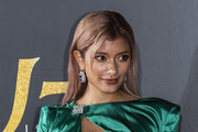 Model Rola attends the 'A Star Is Born' Japan premiere at Roppongi Hills on December 11, 2018 in Tokyo, Japan.