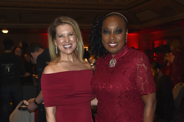 Star Jones The American Heart Association's Go Red For Women Red Dress Collection 2017 Presented By Macy's at Fashion Week in New York City - Backstage
