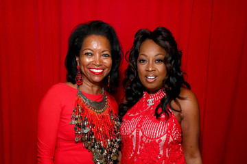 Star Jones Denise Bradley Tyson The American Heart Association's Go Red For Women Red Dress Collection 2019 - Backstage