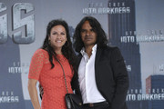 Christine Neubauer and Jose Campos attend the 'Star Trek Into Darkness' Premiere at CineStar on April 29, 2013 in Berlin, Germany.