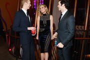 """Doug Jones, Rebecca Romijn and Ethan Peck attends the """"Star Trek: Discovery"""" Season 2 after party at the Conrad New York on January 17, 2019 in New York City."""