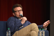 Actor Connor Trinneer from Star Trek: Enterprise takes part in a panel discussion during Star Trek: Mission New York at Javits Center on September 2, 2016 in New York City.
