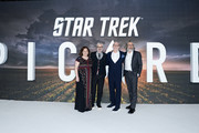 "Executive Producer Kirsten Beyer, Executive Producer Alex Kurtzman, Executive Producer Akiva Goldsman and Executive Producer Michael Chabon attend the ""Star Trek Picard"" UK Premiere at Odeon Luxe Leicester Square on January 15, 2020 in London, England."
