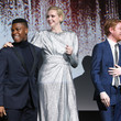 Domhnall Gleeson and Gwendoline Christie Photos
