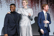 Domhnall Gleeson and Gwendoline Christie Photos Photo