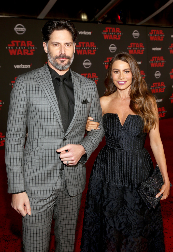 Sofia Vergara at Star Wars: The Last Jedi Premiere at The Shrine Auditorium on December 9, 2017 in Los Angeles, California.