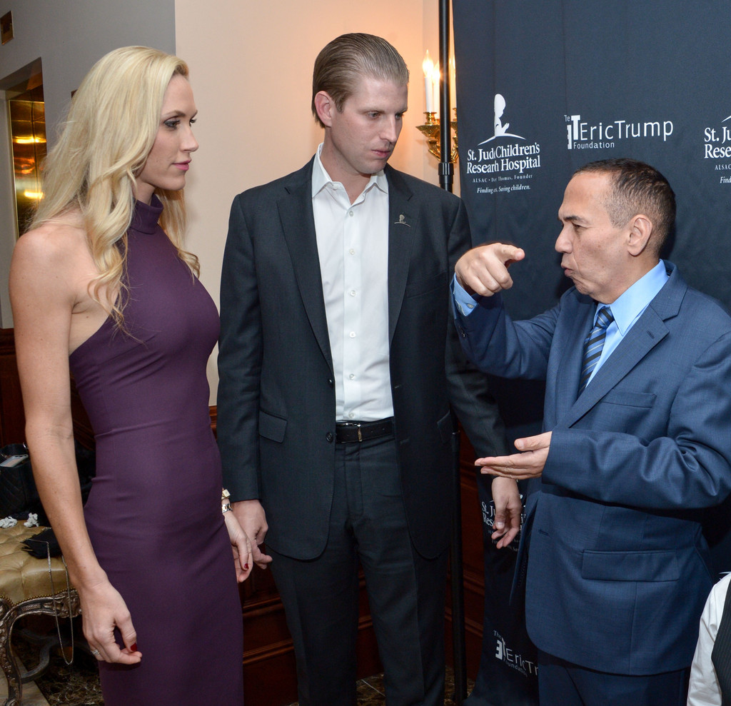 Gilbert Gottfried and Lara Trump Photos Photos - Zimbio