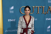 "Melissa Barrera attends the Starz Premiere event for ""Outlander"" Season 5 at Hollywood Palladium on February 13, 2020 in Los Angeles, California."