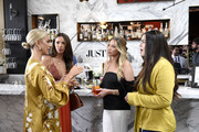 (L-R) Lala Kent, Kristen Doute, Stassi Schroeder, and Kate Maloney are seen as Stassi Schroeder presents: Outfit Of The Day Collection exclusively on JustFab, on #NationalOOTDDay at Norah on June 25, 2019 in West Hollywood, California.