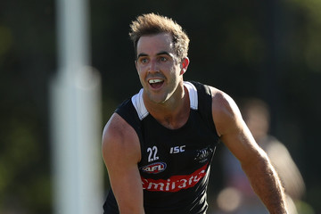 Steele Sidebottom Collingwood Magpies Intra-Club Match