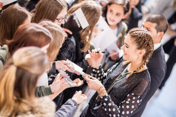 Meet and Greet with Stefanie Giesinger and Andre Hamann at TEZENIS Store Frankfurt/Main