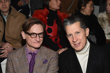 Stefano Tonchi Front Row at Ralph Lauren