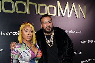 Stefflon Don BoohooMAN French Montana Party