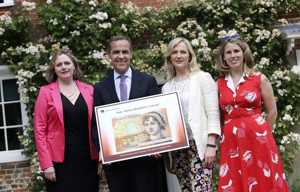 Mark Carney Launches New UK Banknote