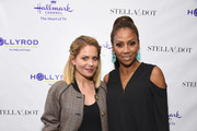 Candace Cameron Bure and Holly Robinson Peete attend the Stella & Dot x HollyRod Foundation Charity Trunk Show for Autism Awareness Month on April 11, 2018 in Los Angeles, California.