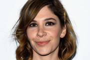 Actress Carrie Brownstein arrives at Stella McCartney Autumn 2016 Presentation at Amoeba Music on January 12, 2016 in Los Angeles, California.