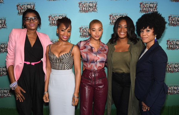 Atlanta Junket for the New Warner Bros. Movie 'EVERYTHING, EVERYTHING'